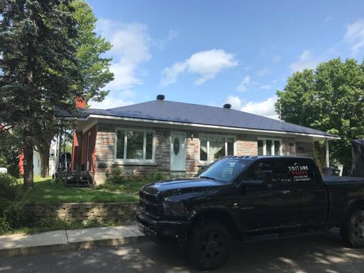 Réalisation du couvreur de toitures Toiture Neuve